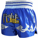 RDX R1 FIRE SATIN MUAY THAI SHORTS-8