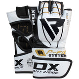 RDX F3 GEL LEATHER MMA GLOVES-2