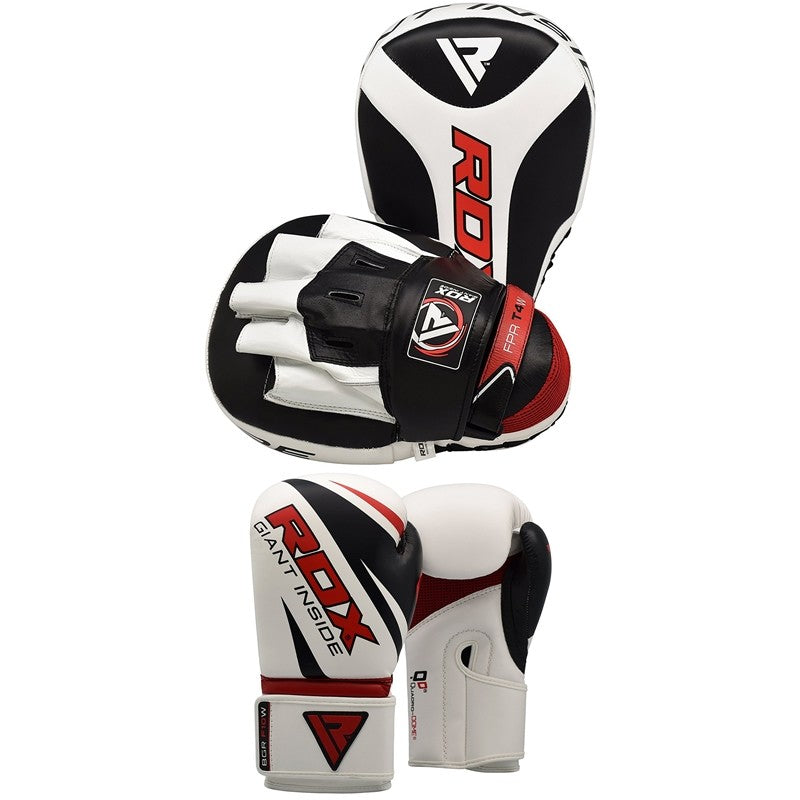 RDX PUNCH MITTS & GLOVES SET-1