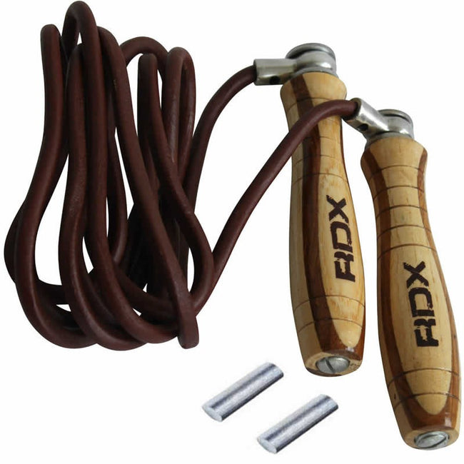 RDX L1 LEATHER 9FT SPEED SKIPPING ROPE-1