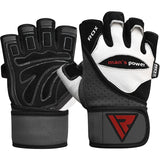 RDX L1 LEATHER GYM GLOVES-5