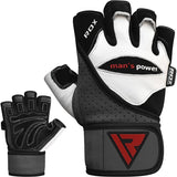 RDX L1 LEATHER GYM GLOVES-8