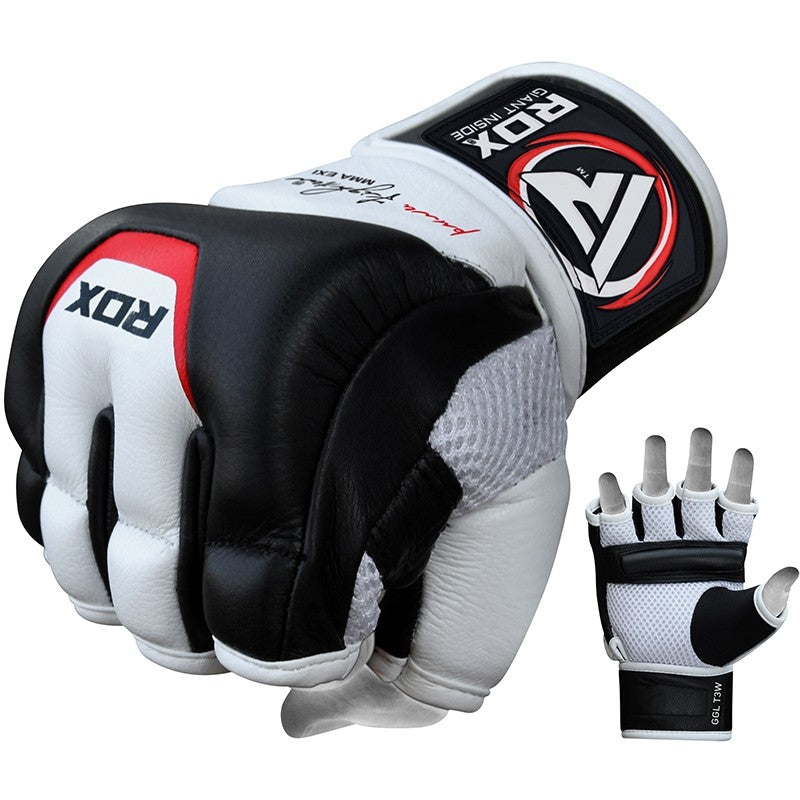 RDX T3 LEATHER MMA GRAPPLING GLOVES-1