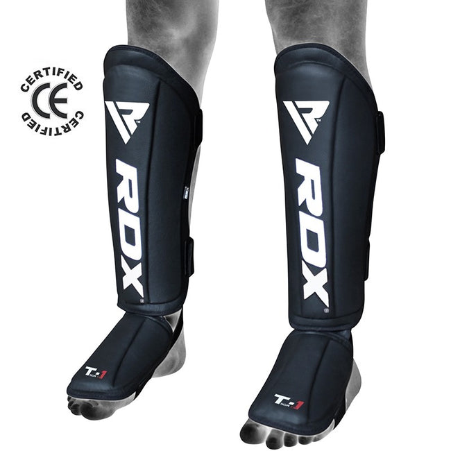 RDX T1 LEATHER SHIN INSTEP GUARDS-1
