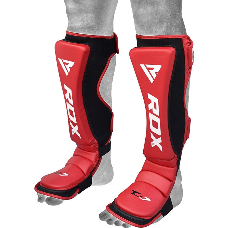 RDX T7 RED SHIN INSTEP GUARDS-1