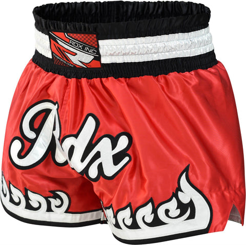 R5 RED MUAY THAI SHORTS-1