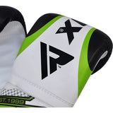 RDX UNFILLED GREEN PUNCH BAG & PUNCH MITTS SET-6