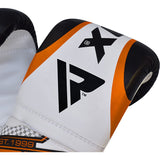 RDX 12O UNFILLED ORANGE PUNCHING BAG & MITTS-6