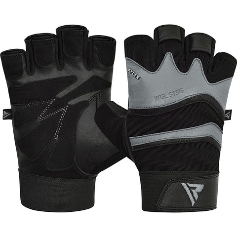 RDX S15 FITNESS GYM GLOVES/Gry-1