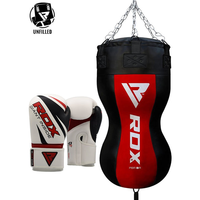 RDX UNFILLED BODY PUNCH BAG WITH GLOVES-1