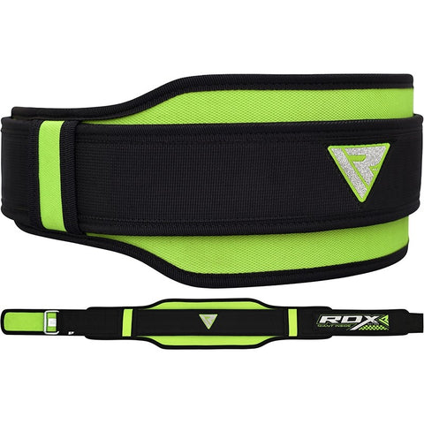 RDX 8D WEIGHT LIFTING GYM BELTS/Gre-1