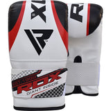 RDX X1 FILLED BLACK PUNCH BAG & BAG GLOVES-3