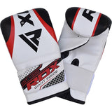 RDX X1 FILLED BLACK PUNCH BAG & BAG GLOVES-5