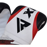 RDX X1 FILLED BLACK PUNCH BAG & BAG GLOVES-7