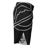 FUJI INVERTED BOARD SHORTS-Black-4