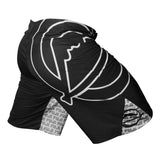 FUJI INVERTED BOARD SHORTS-Black-2