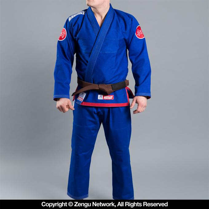 Scramble-Athlete 3.0 Jiu Jitsu Gi - Blue-1