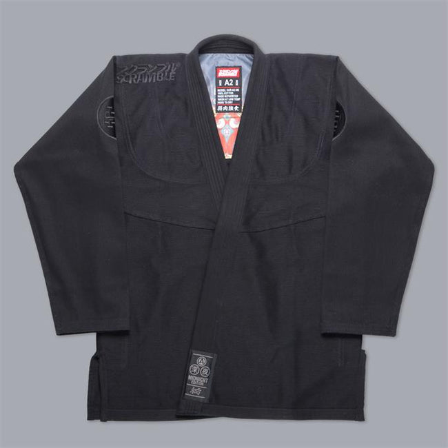 Scramble-Athlete 3 Midnight Edition Jiu Jitsu Gi-1