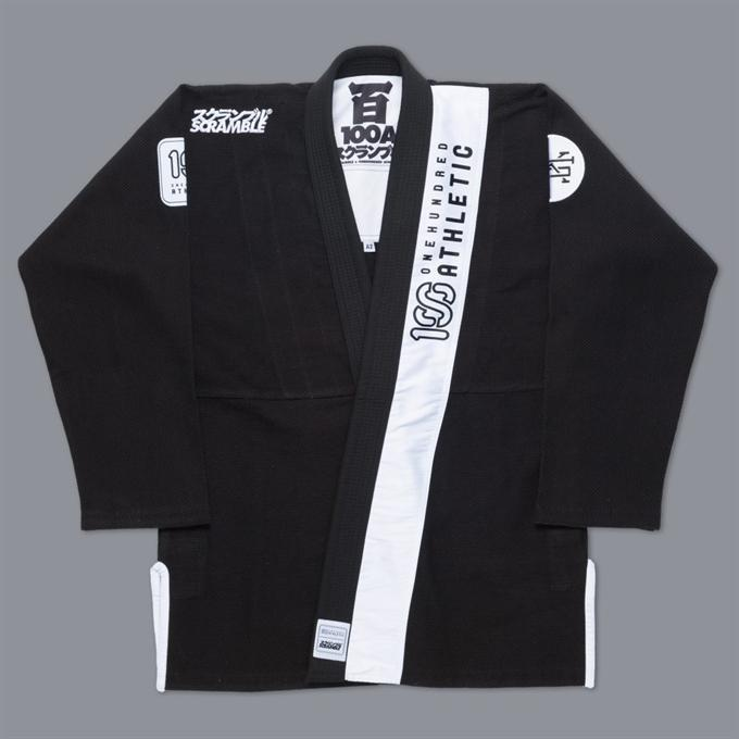 Scramble-X 100-Athletic Jiu Jitsu Gi – Black-1