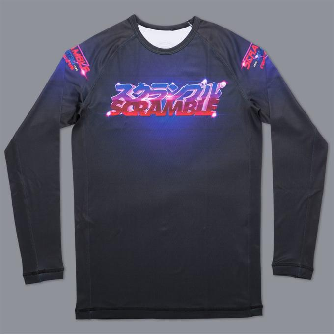 Scramble-Lazertronic Grappling Rashguard-1