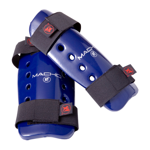 MACHO Dyna Shin/Forearm Guard-Blue-1