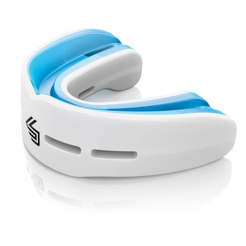 MACHO Shock Doctor Nano Double Fight Mouthguard/WHITE-1