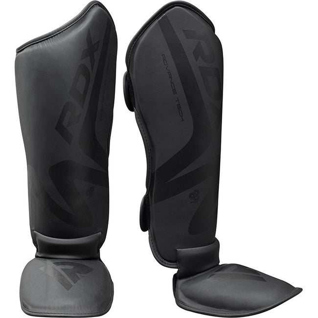 RDX T15 Noir Black Shin Instep Guards