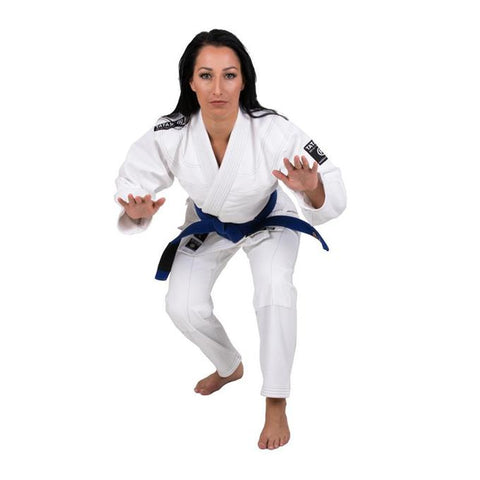 Tatami Black Label Women's Jiu Jitsu Gi - White-1