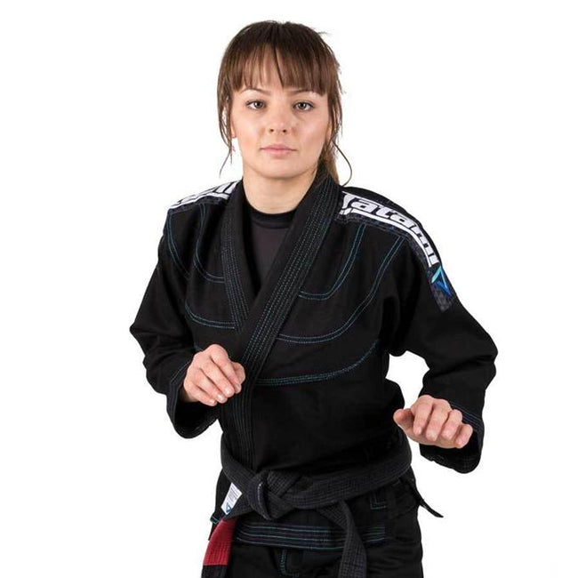 Tatami Elements Ultra Lightweight Women's Jiu Jitsu Gi - Black-1
