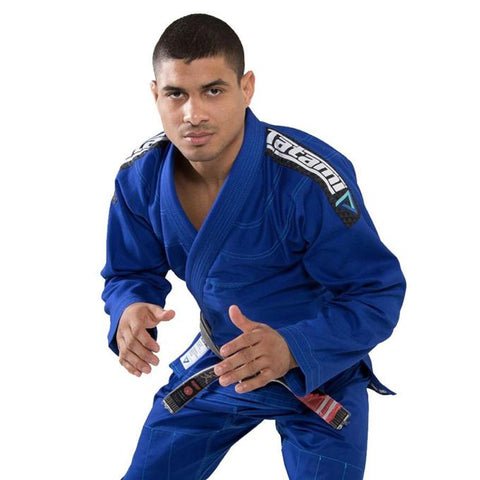 Tatami Elements Ultra Lightweight Jiu Jitsu Gi - Blue-1