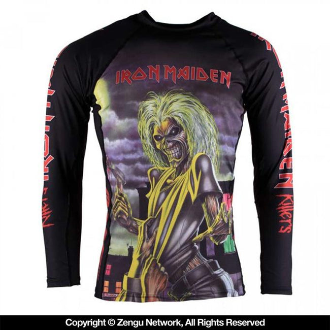 Tatami Iron Maiden Killers Grappling Rashguard-1