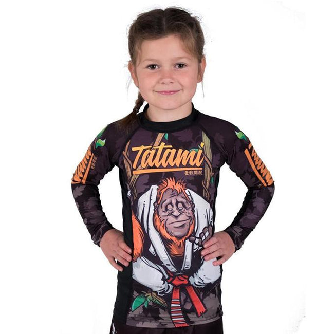 Tatami Hang Loose Orangutan Kids Grappling Rashguard-1