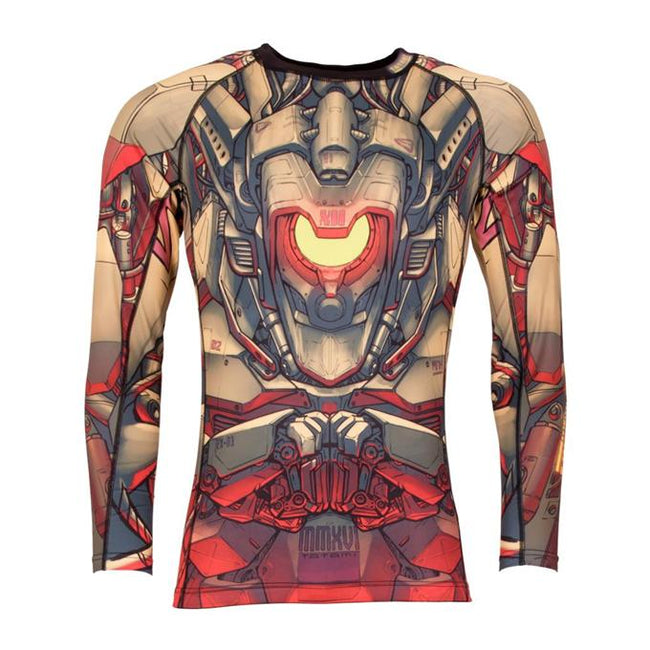 Tatami Mech Warrior Grappling Rashguard-1