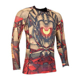 Tatami Mech Warrior Grappling Rashguard-2