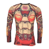 Tatami Mech Warrior Grappling Rashguard-3