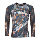 TATAMI MECH DESTROYER CHILDREN`S GRAPPLING RASHGUARD-1