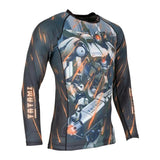 TATAMI MECH DESTROYER CHILDREN`S GRAPPLING RASHGUARD-2