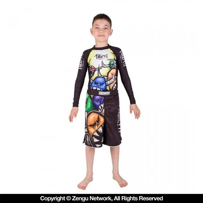 Tatami Monster Kids Grappling Shorts-1