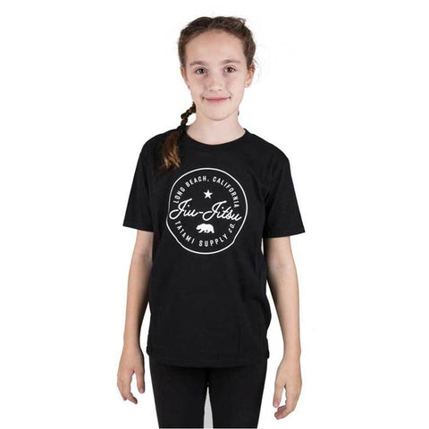 Tatami Cali Children's T-Shirt-Black-1