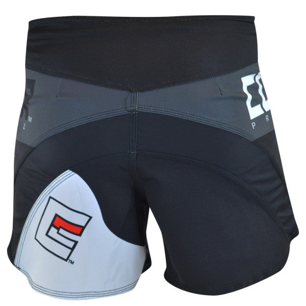 Combat Corner Supreme Hybrid Fight Shorts (Charcoal)-1