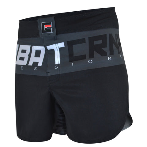 Combat Corner Supreme Hybrid Fight Shorts (Charcoal)-2