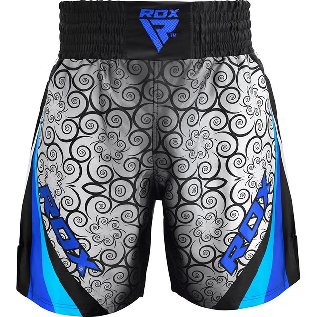 RDX BSS TRAINING BOXING SHORTS/Blu-1