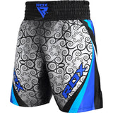 RDX BSS TRAINING BOXING SHORTS/Blu-3