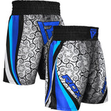 RDX BSS TRAINING BOXING SHORTS/Blu-7