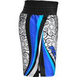 RDX BSS TRAINING BOXING SHORTS/Blu-8