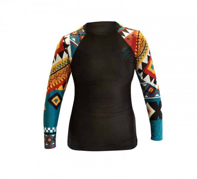 FUJI Tribal Women's Rashguard-1