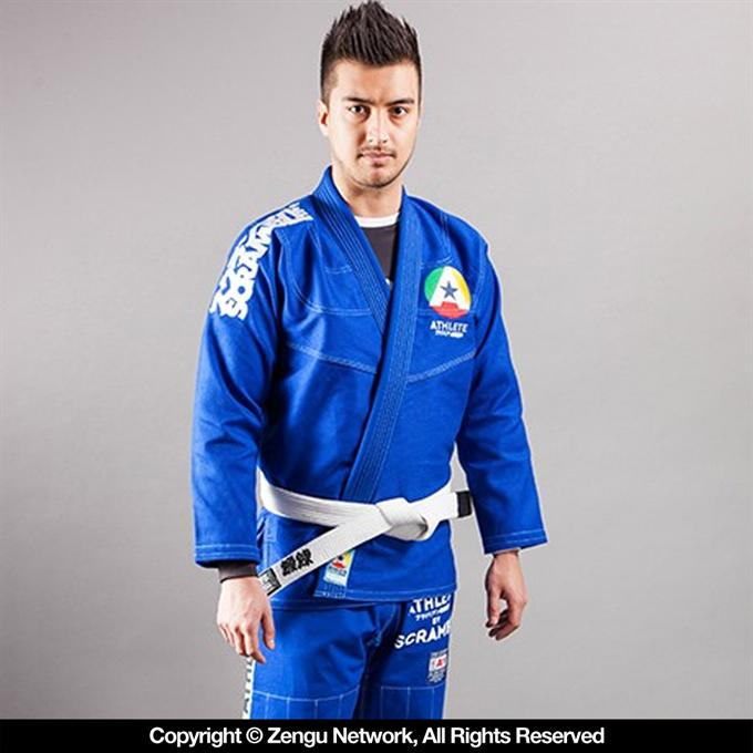 "Scramble-""Athlete"" Blue-Jiu Jitsu Gi-1"