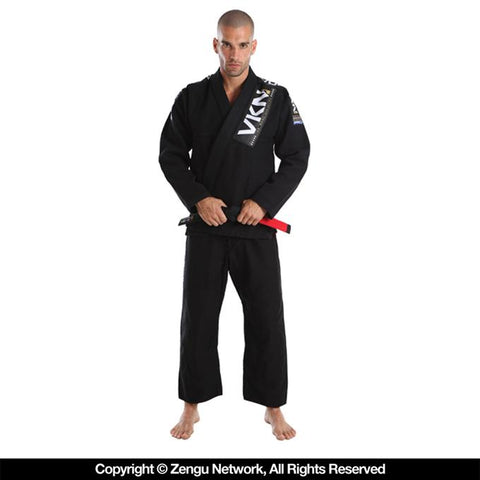 Vulkan-VKN Pro Light Black-Jiu Jitsu Gi-1