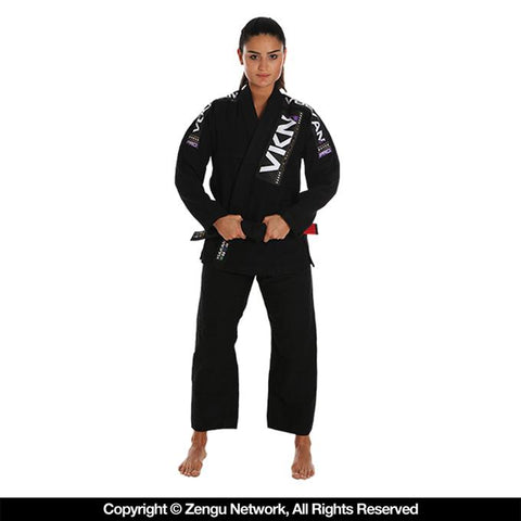 Vulkan-VKN Pro Light Women's Jiu Jitsu Gi - Black-1
