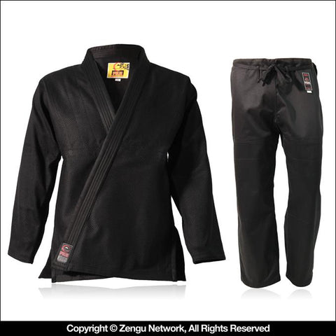 FUJI Black Children's BJJ Gi-1